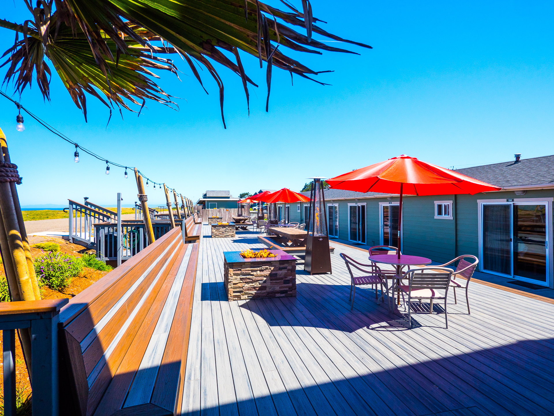 Come relax and unwind at The Mates Deck!