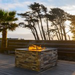 Enjoy outdoor fire pits
