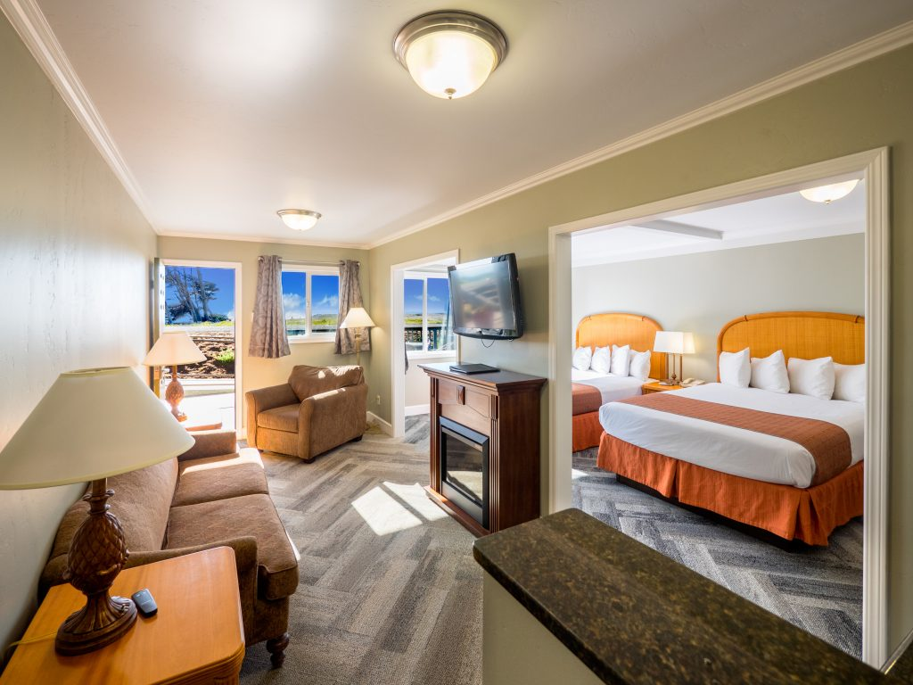 Beachcomber Two Queen Suite with View – Downstairs (DS)